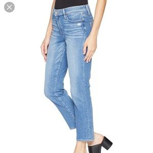 NWT Paige high Rose Jimmy crop Venice denim jeans